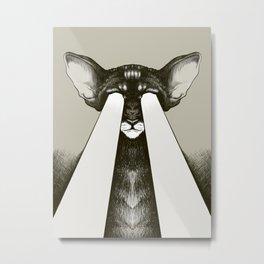 Galactic Cat Metal Print