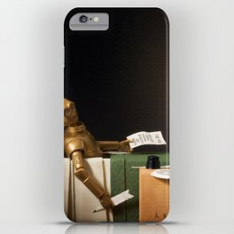 The Death of Robat iPhone Case