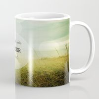 wander Mugs featuring Wander by Olivia Joy StClaire