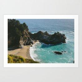 McWay Falls • Big Sur, CA Art Print