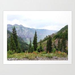 Wonders of the Mountainside Art Print