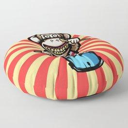 Ape Drummer Floor Pillow