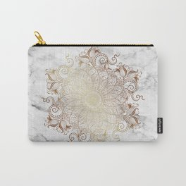 Mandala - Marble gold Carry-All Pouch