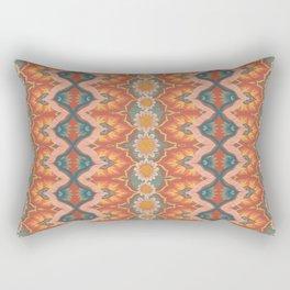 Boho Daisies Pattern Rectangular Pillow