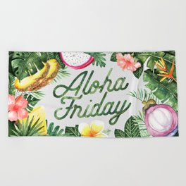 Aloha Friday! Beach Towel