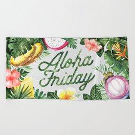 Aloha Friday! Beach Towel