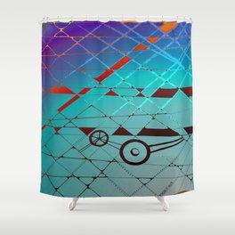 The Mechanic Shower Curtain