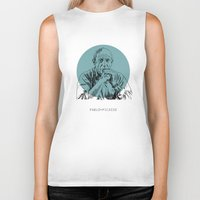 picasso Biker Tanks featuring Pablo Picasso by Mark McKenny
