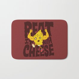 Beat it with Cheese Bath Mat
