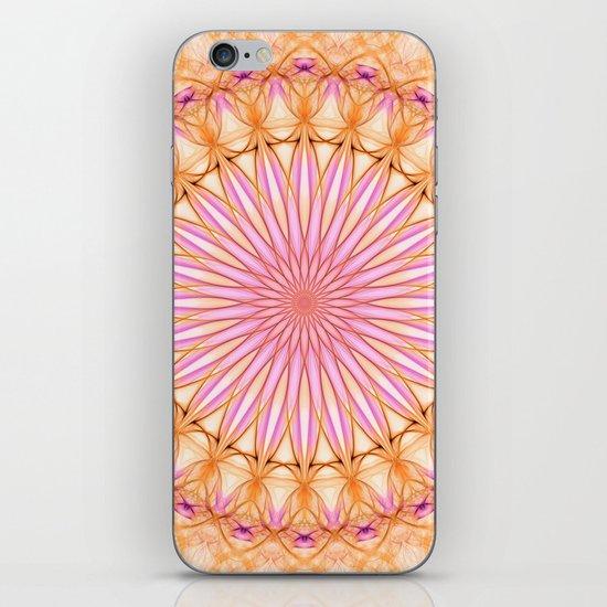 Mandala in pink, yellow and orange tones by jaroslawblaminsky