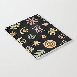 African Adinkra Symbols Notebook