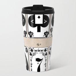 patent Playing cards 1877 Saladee Travel Mug