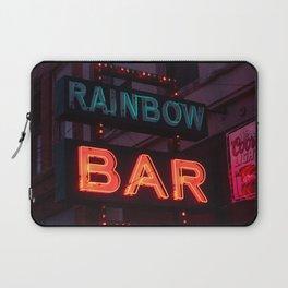 Rainbow Bar - Sheridan, WY Laptop Sleeve