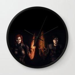 Shepard and Hawke Wall Clock