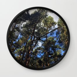 Canopy. Rushmere Park, Bedfordshire Wall Clock