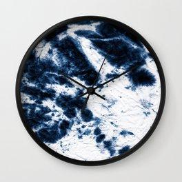 Boho Paper Tie-Dye Wall Clock