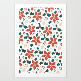 Deck the Halls (Patterns Please) Art Print