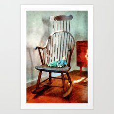 Special Friends - Watercolor Version Art Print