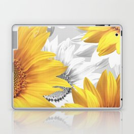 Sunflower Bouquet #decor #society6 #buyart Laptop & iPad Skin