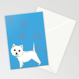 Coco Scottish terrier Stationery Cards