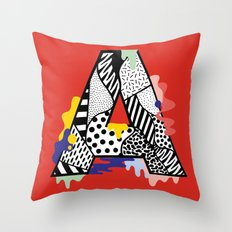 A for ….. Throw Pillow