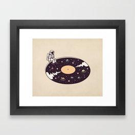 Cosmic Sound Framed Art Print
