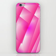 Pink abstract iPhone & iPod Skin
