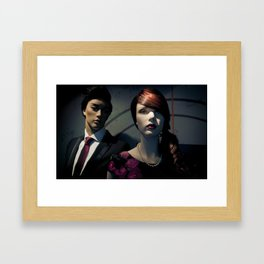 Ju & Hu Framed Art Print