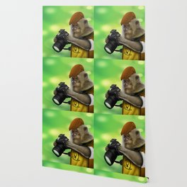Photographer of the apes Wallpaper