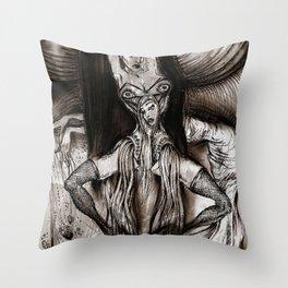 Good And Evil Throw Pillow