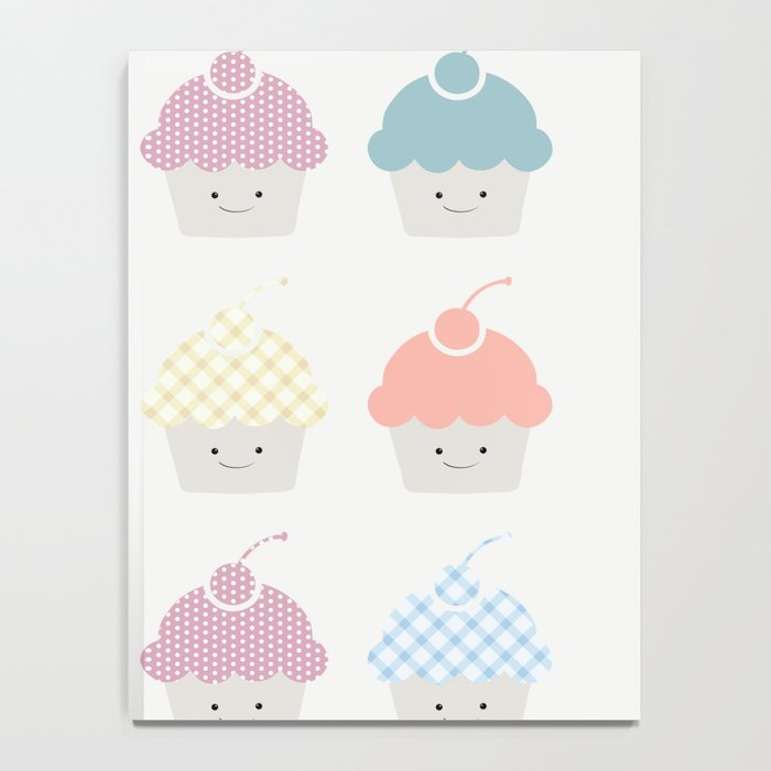 Cupcakes pattern Notebook