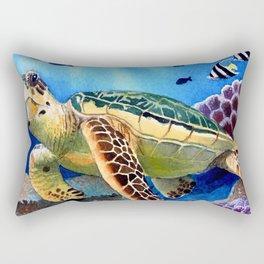 Kapoho Honu Rectangular Pillow