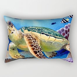Kapoho Honu Rectangular Pillow