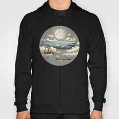 Ocean Meets Sky (original) Hoody