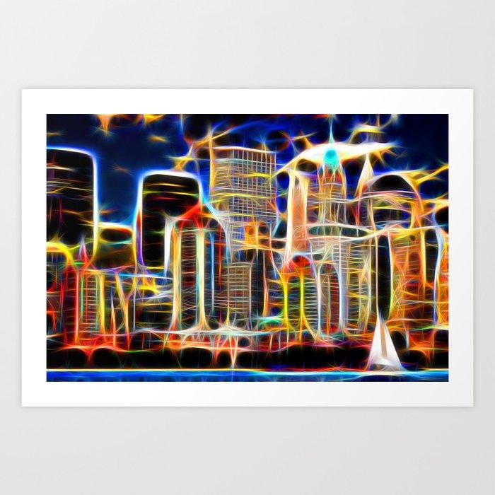NY. Manhattan Art Print