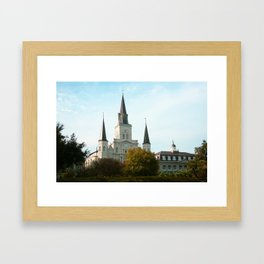 St. Louis Cathedral Framed Art Print
