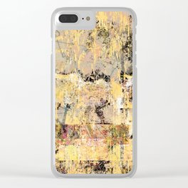 except for last night Clear iPhone Case