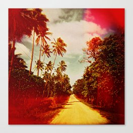 UNTITLED (a road in Tonga) Canvas Print