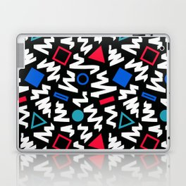 Red, White, and Blue 90's Pattern Laptop & iPad Skin