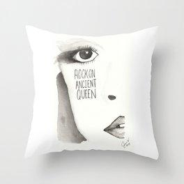 Ancient Queen Throw Pillow