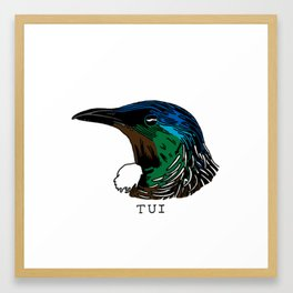 Tui Framed Art Print