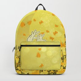 Yellow Effervescence Backpack