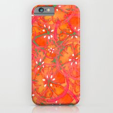 Watercolor Oranges iPhone 6s Slim Case