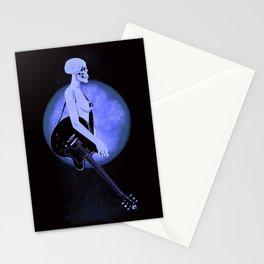 Skull Of Rock/Black Stationery Cards