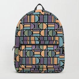 Bohemian shapes - black Backpack