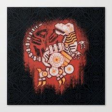 A Grim Find Canvas Print