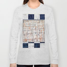 Untitled 'Law of Gravity' - square graphic Long Sleeve T-shirt