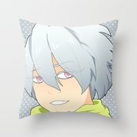 dmmd Throw Pillows featuring Clear by Liyu