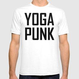 yoga punk T-shirt