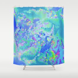 Winter's frost Shower Curtain
